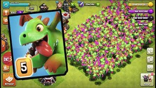 Most Satisfied Max Baby Dragon Attack On COC |  Funny GamePlay