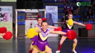 Galaxy Cheer z CKiS Skawina  - XVIII Mistrzostwa Polski Cheerleaders 2015