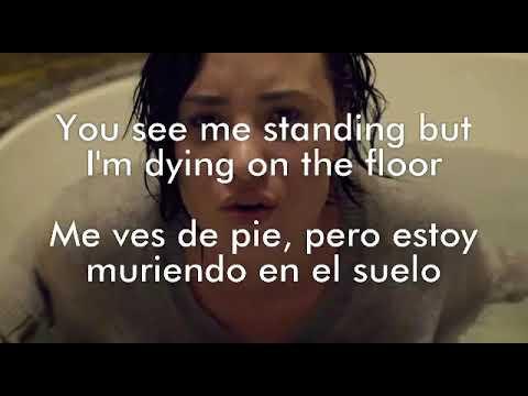Demi Lovato Stone Cold Lyrics traducción subtítulos español inglés