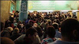 إقبال حاشد للجمهور التونسي على العرض الأول لـ«اشتباك» في «قرطاج السينمائي»