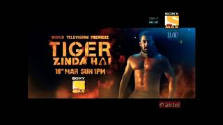 Tiger Zinda Hai | World Television Premiere | Teaser | Sony Max | 18 March, Sun 1 PM