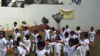 Sivaana Academy - Sports Day Events 2014 - Inauguration Ceremony (Song Changed)