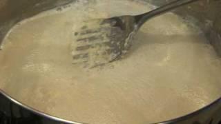 Kheer Bajias Cooking