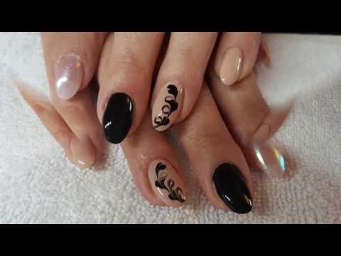 Cum se aplică unghiile false cu tips și gel