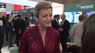 Vestager: We need a global push on digital taxes | Squawk Box Europe