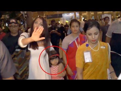 Xxx Mp4 Aishwarya Rai Bachchan Protects Scared Daughter Aaradhya From Paparazzi 3gp Sex