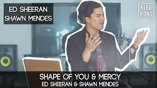 Shape of You by Ed Sheeran and Mercy by Shawn Mendes | Alex Aiono Cover