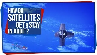 How Do Satellites Get & Stay in Orbit?
