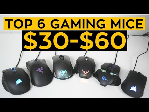 The TOP 6 Budget Gaming Mice for 2017