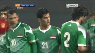 العراق والصين تصفيات اسيا 22/3/2013 Iraq vs China