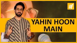 "Ayushmann Khurrana With His Wife At ""Yahin Hoon Main"" Launch!"