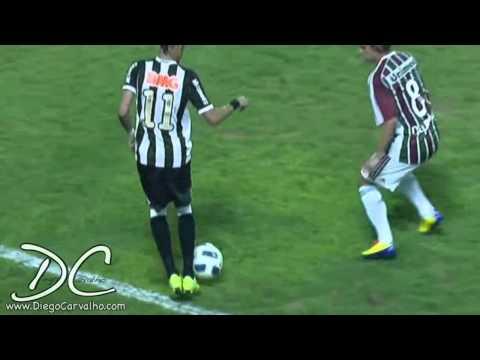 NEYMAR caneta no DIGUINHO Fluminense x Santos