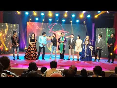 Xxx Mp4 एक ही स्टेज पर तीन स्टार Dinesh Lal Yadav Ravi Kishan Khesari Lal Yadav Award Show 2017 3gp Sex