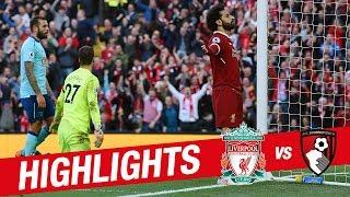 Highlights: Liverpool 3-0 Bournemouth | Mane, Salah & Firmino on target again