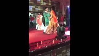 Alok and Sakshi's performance