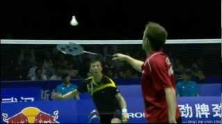 Semi Finals - Denmark (P.Gade) vs Korea (Lee H.I.) - Thomas Cup 2012