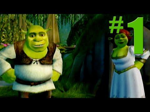 Shrek 2 Game Walkthrough Part 1 Shrek s Swamp No Commentary Gameplay Gamecube Xbox PS2
