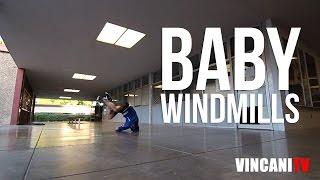 How to Breakdance | Baby Windmills | Kurt the Hurt