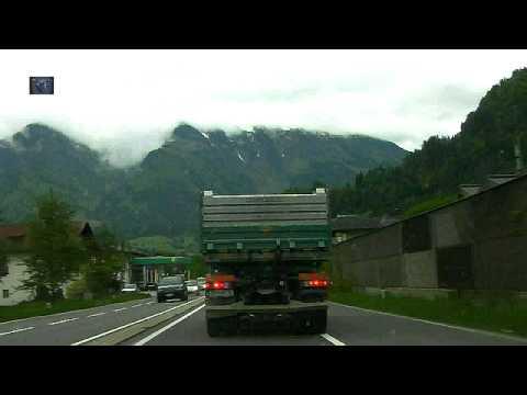 Auto  Salzburg   Rauris Zeitraffer