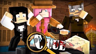 Minecraft Clue: 1920s Murder in the Mansion! | Part 2 Minecraft Roleplay
