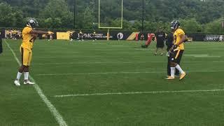 Steelers CBs duel at OTAs