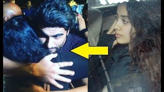 Jhanvi Kapoor And Arjun Kapoor Spend Time Together After Sridevi