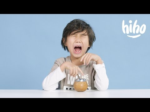 Tea American Kids Try Food from Around the World Ep 15 Kids Try Cut