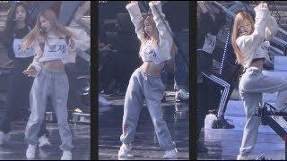 181014 블랙핑크 (BLACKPINK) FOREVER YOUNG 사복리허설(Rehearsal) [로제] ROSE 직캠 Fancam (BBQ콘서트) by Mera