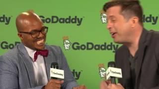 Shawn Pfunder of GoDaddy Interviews Tri-Bow-Tie | GoDaddy