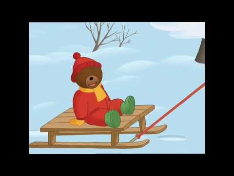 Petit ours brun fait des boules de neige petit ours brun - Petit ours brun a la mer ...