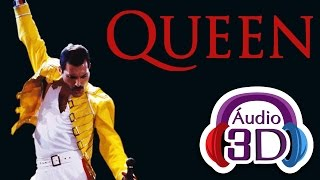 Queen - We Will Rock You - AUDIO 3D