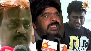 Tamil Actors Who Cried in Public in Real Life | TR, Sarathkumar, Vijayakanth, Sivakarthikeyan