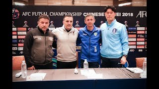 #AFCFutsal2018 - Pre-Match Press Conference Group B