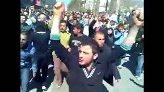 """في مثل هذا اليوم قبل سبع سنوات انتفضت سوريا ووحّدت شعارها """"بالروح بالدم نفديكِ يا درعا"""""""