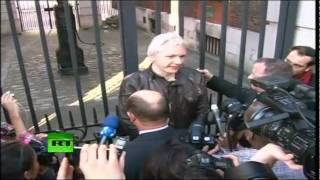 JULIAN ASSANGE - Rothschild's Bank of England PROFITS from the entire African Continent Slavery