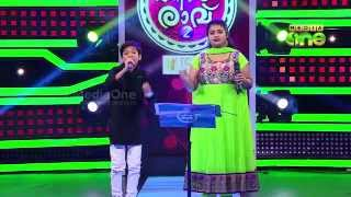 Pathinalam Ravu Season2 (Epi73 Part2) Adil singing with Liji in 5th stage, Duet song round