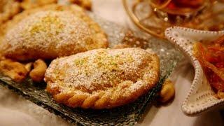 Persian Cookies Ghotab - Iranian Mini Pie Recipe - Persian Pastry - Heghineh Cooking Show