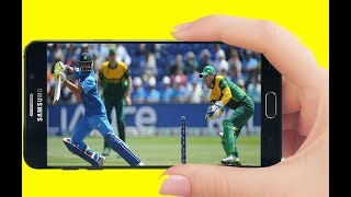 How to watch live cricket match on your pc laptop or android phone free live streaming