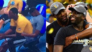 Draymond Green Gives Kevin Durant a LAP DANCE in Weird NBA 2K18 Glitch