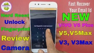 VIVO V5 Plus Hard Reset Fingerprint Pattern Unlock Solution