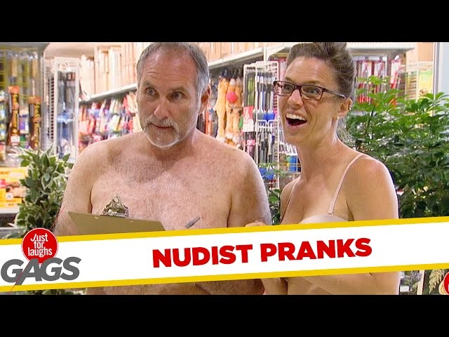 Nudisten - Best of Just For Laughs Gags