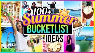 ♡ 100+ Fun Things to Do When You're BORED!   Ultimate Summer Guide + Bucket List Ideas 2016 ♡