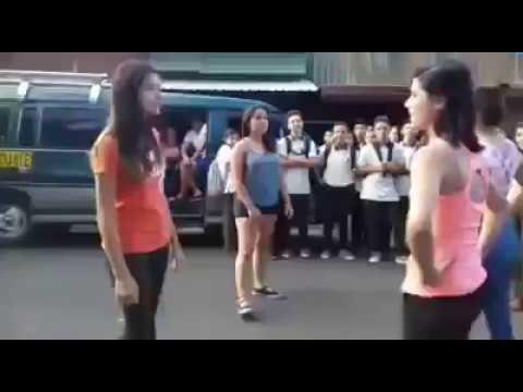 Pelea de mujeres en Alajuela Costa Rica