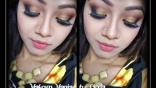 Golden Smokey Eyes | Kathleenlights NYE inspired Look