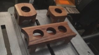 Making the Tea Light Candle Holder