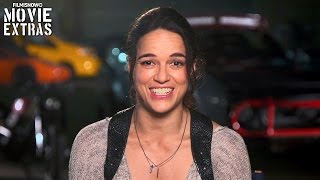 The Fate of the Furious | On-set visit with Michelle Rodriguez