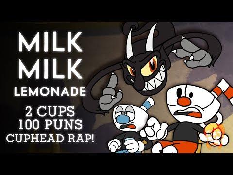 MILK MILK LEMONADE | 2 CUPS 100 PUNS | Animated Cuphead Rap!