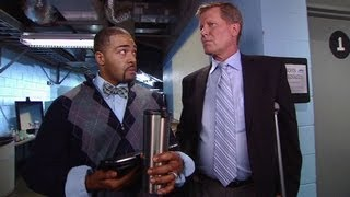 John Laurinaitis learns Mr. McMahon is coming to Raw