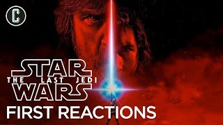 First Star Wars: The Last Jedi Reactions Praise Rian Johnson's Sequel