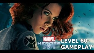 Marvel Heroes: Level 60 Black Widow Gameplay (updated)